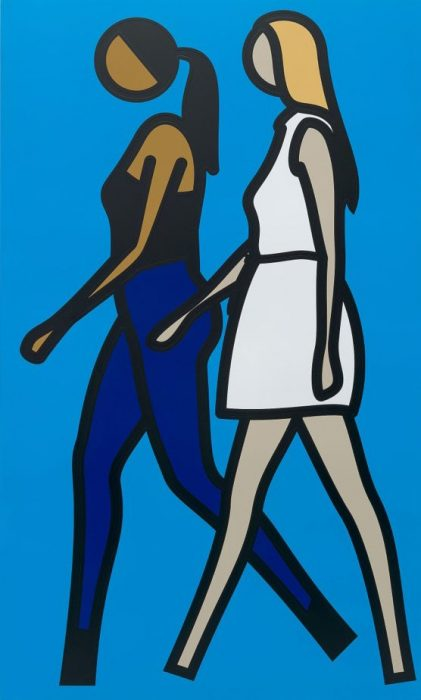Julian Opie Zemack Contemporary Art