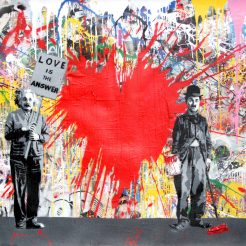Mr.Brainwash Juxtapose